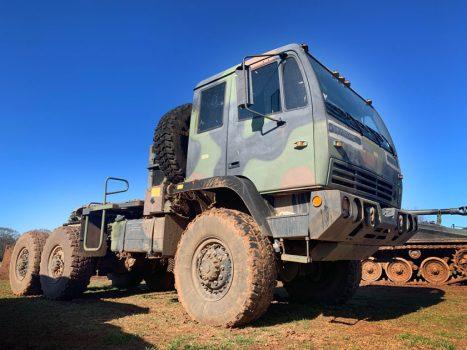 6x6 military truck